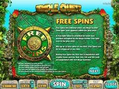 Temple Quest pokieslots77.com Big Time Gaming 5/5