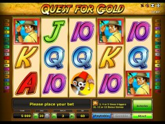 Quest for Gold pokieslots77.com Greentube 1/5