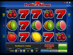 Fruits 'n Sevens pokieslots77.com Greentube 1/5