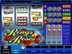 Rings and Roses pokieslots77.com Microgaming 1/5