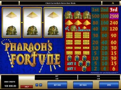 Pharaoh's Fortune - Microgaming