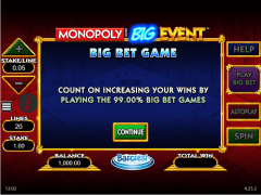 Monopoly Big Event - William Hill Interactive