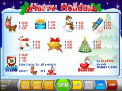 Happy Holiday pokieslots77.com SGS Universal 2/5