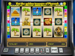 Golden Treasure of Pharaoh pokieslots77.com Gaminator 1/5