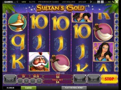 Sultan's Gold pokieslots77.com Playtech 5/5