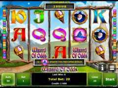 Wizard of Odds pokieslots77.com Greentube 1/5