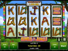 Rumble in the Jungle pokieslots77.com Greentube 1/5