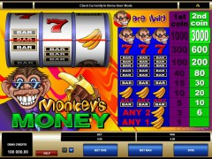 Monkey's Money pokieslots77.com Microgaming 1/5