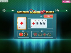 Golden Joker Dice pokieslots77.com MrSlotty 3/5