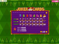 Joker Cards pokieslots77.com MrSlotty 5/5