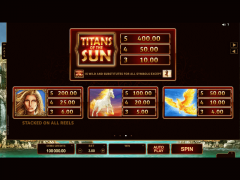 Titans of the Sun Theia pokieslots77.com Microgaming 4/5