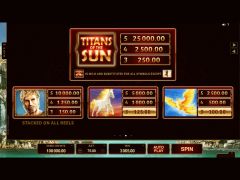 Titans of the Sun Hyperion pokieslots77.com Microgaming 4/5