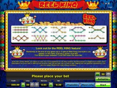 Reel King pokieslots77.com Novomatic 3/5
